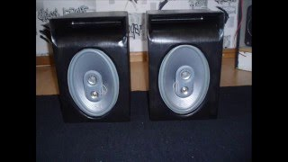 Homemade speakers for 6x9s