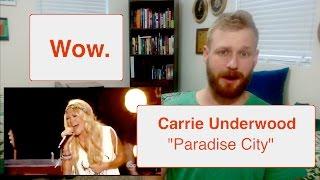 Download Lagu Carrie Underwood - Paradise City (Live) | Reaction Gratis STAFABAND