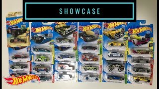 Showcase - Hot Wheels 2018 Other Stores Exclusives + Ultimate Chase Bone Shaker