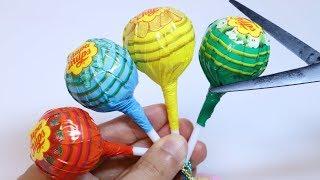 Chupa Chups Squishy Squeeze Toys Cutting Open