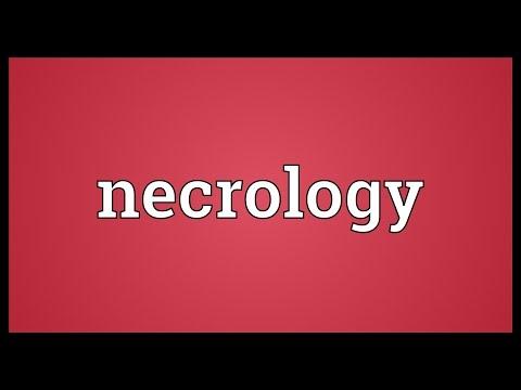 Header of necrology