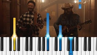 Download Lagu Justin Timberlake - Say Something (ft. Chris Stapleton) - EASY Piano Tutorial Gratis STAFABAND