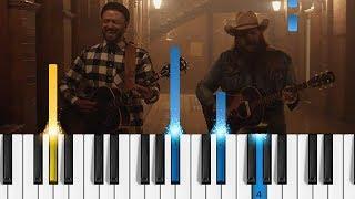 Download Lagu Justin Timberlake - Say Something (ft. Chris Stapleton) - EASY Piano Tutorial Gratis STAFABAND