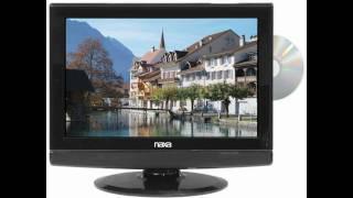 19 Inch Naxa 12 Volt AC/DC Widescreen 1080i HD LCD TV with DVD Player & Digital Tuner