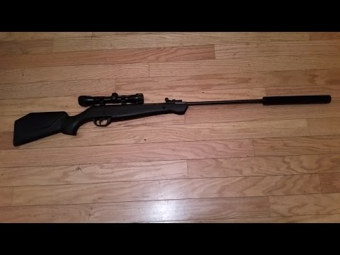 Home Made Air Rifle Suppressor. simply the best out there