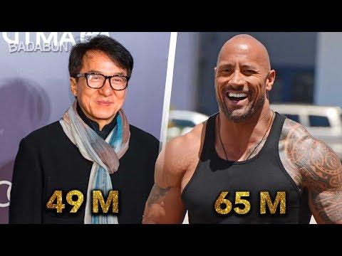 Los 12 actores mejor pagados del mundo