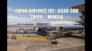 MAJESTIC APPROACH in MANILA | TRIP REPORT: [A330-300] CHINA AIRLINES 701 Taipei - Manila Flight