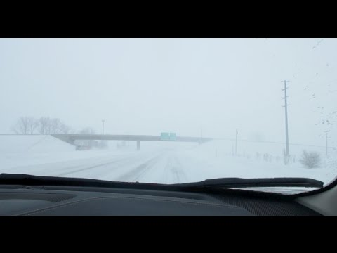 Winter Storm Linus in Illinois | Road Trip (February 1, 2015)