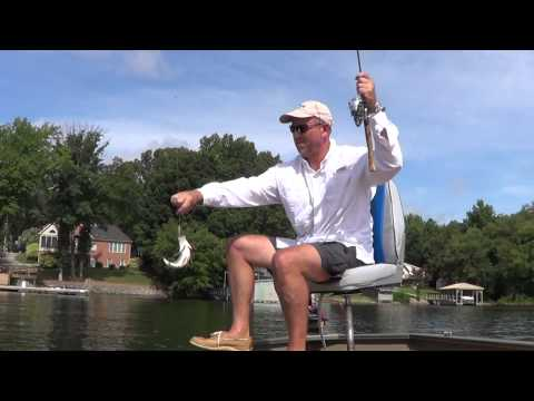 White Perch Fishing Lake Norman 2012.wmv