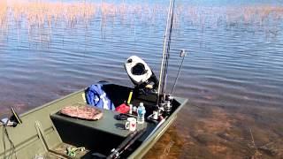 Play pelican icon 120 angler kayak for Cabela s advanced angler 120 trolling motor