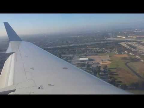 (HD) American Eagle Bombardier CRJ-200 Landing Los Angeles (LAX)