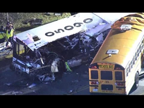 Six dead in Baltimore school bus crash
