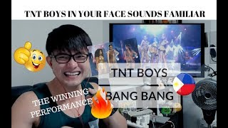 Download Lagu [REACTION] WINNING PERFORMANCE! TNT BOYS sings BANG BANG! | Your Face Sounds Familiar | #JANGReacts Gratis STAFABAND