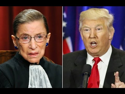 "Trump: Supreme Court Justice Ruth Bader Ginsburg's Mind is ""Shot"""