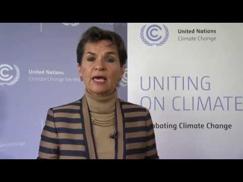 Christiana Figueres addresses 13th Meeting of the Cartagena Dialogue for Progressive Action
