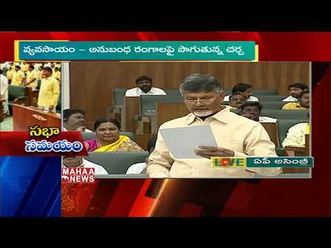 BJP Leaders Are Blaming Me Over AP Special status Says CM Chandrababu | AP Budget 2019 | Mahaa News