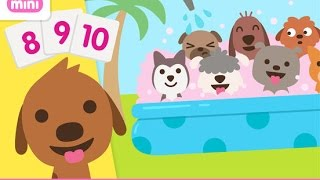 Sago Mini Puppy Preschool - iPad app demo for kids - Ellie