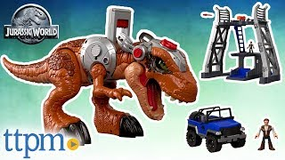 Imaginext Jurassic World Jurassic Rex from Fisher-Price