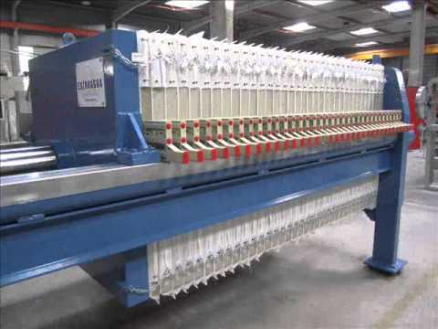 Filtro prensa hidraulico Fp-h-Tl