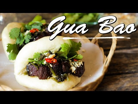 Gua Bao - Buns Taïwanais -  Le Riz Jaune