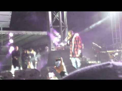 Common Brings Out Kanye West At AAHH Fest