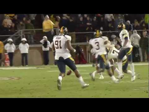 Cal Football: D.J. Campbell Highlights - DB #7