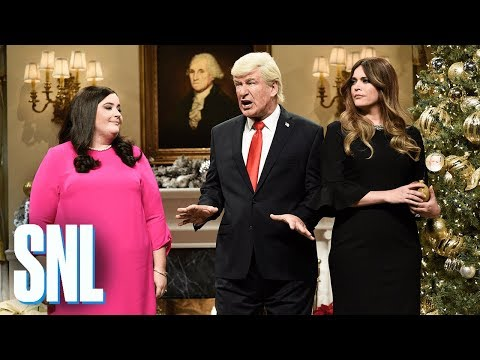 White House Tree Trimming Cold Open - SNL
