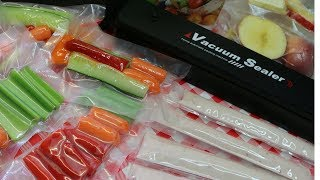 Back to School Lunch Prep Ideas ~ Vacuum Sealer Hacks ~ Noreen