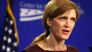 US Ambassador Power Speaks On Syrian Crisis (Full Speech 2013)