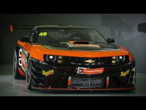 M-Motorsport Interlloy Camaro GT3 launch - February 2015