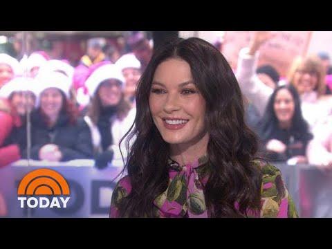 Catherine Zeta-Jones Talks 'Queen America' And Husband Michael Douglas   TODAY