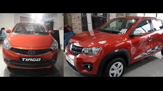 Renault Kwid Face Lift 2018 Vs Tata Tiago 2018