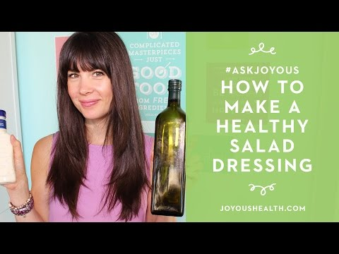 #AskJoyous -  How to Make a Healthy Salad Dressing