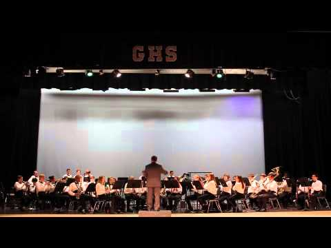 Elkins Pointe Middle School Symphonic Band 1 -- Tampa, Florida, 2014
