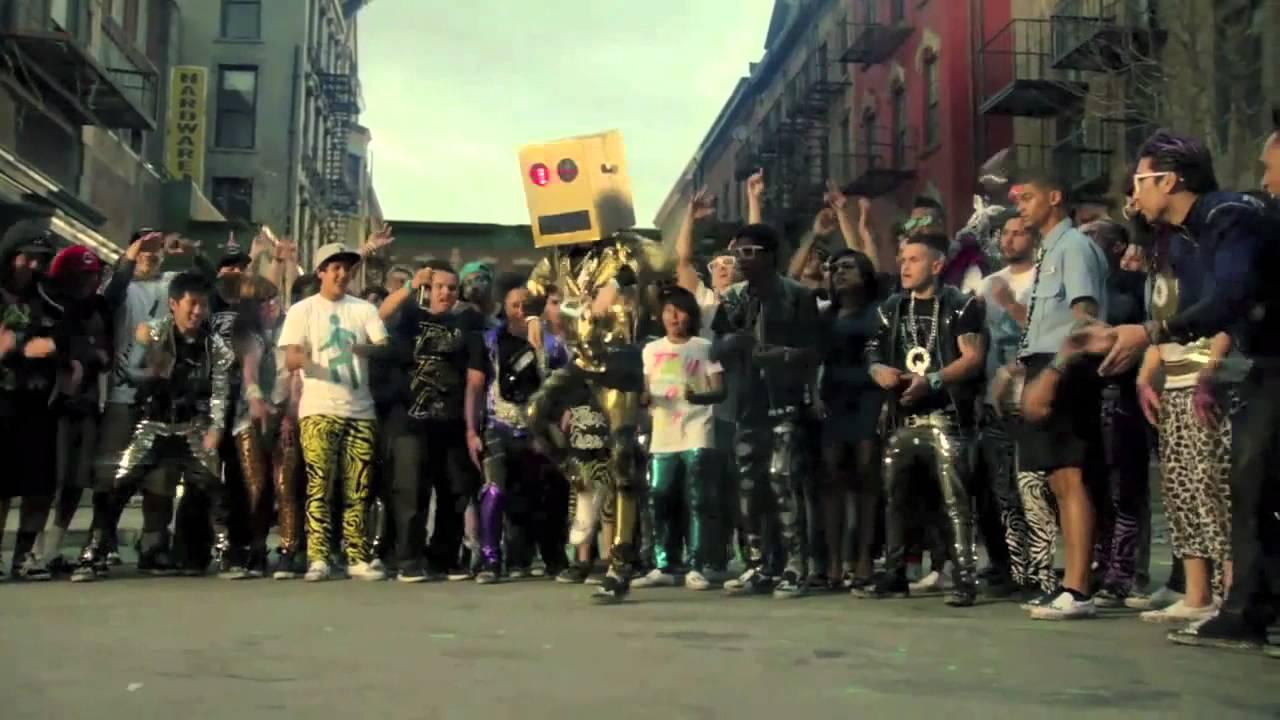 Party Rock Anthem Robot Costume Party Rock Anthem Lmfao