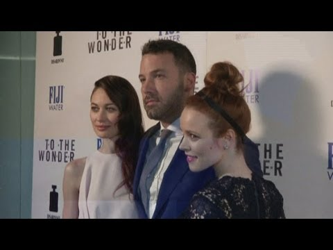 Ben Affleck and Rachel McAdams attend the premiere of their latest film, To the Wonder