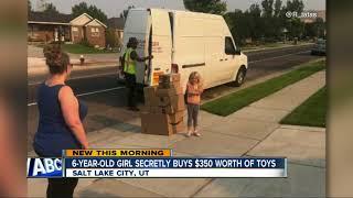 Six-year-old girl secretly buys $350 worth of toys on Amazon