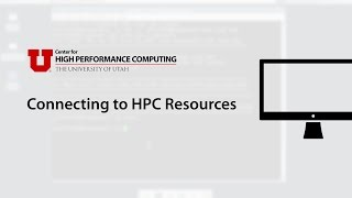 Connecting to HPC Resources
