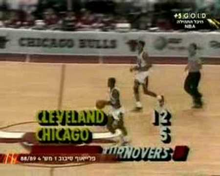 Bulls vs. Cavs 1989 game 4 (7/...)