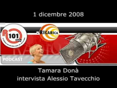 Tamara Donà intervista Alessio – R101