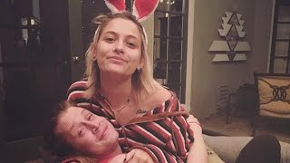 Paris Jackson Gets Playful with Godfather Macaulay Culkin
