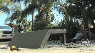 How to Build DIY Skate Ledges - Sk8Mafia X jslv - Yer Welcome