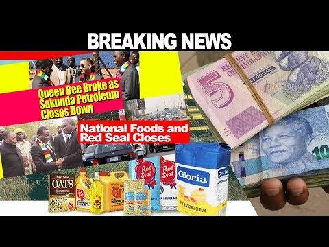 Zimbabwe LATEST News 5 DECEMBER Chiwenga,s Queen Bee Broke, Sakunda, National Foods, Red Seal Closes