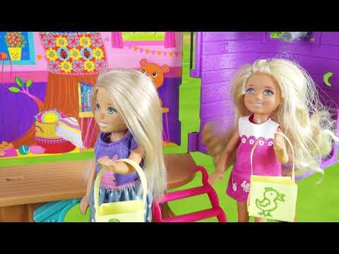 Rodzinka Barbie - Zabawa Wielkanocna. Bajka Dla Dzieci Po Polsku. The Sims 4. Odc. 70