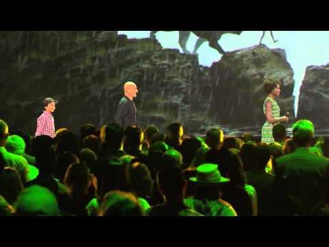 D23   Saturday   8/15 Jon Favreau Intros Cast of The Jungle Book HD