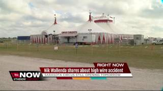 Wallenda says high-wire accident was 'nightmare'