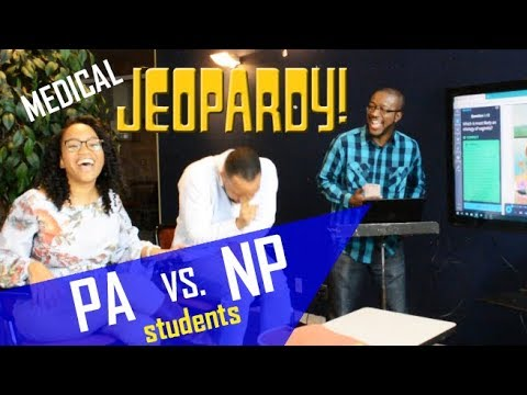 PA Student vs NP Student || Medical Jeopardy Game Show || Who Will Win???