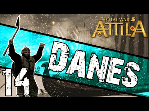 Total War: Attila - Danes Campaign #14 ~ Axing The Rebels!