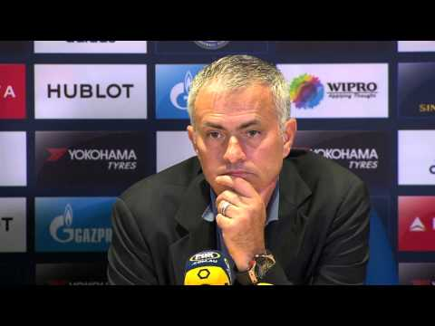 Amazing Jose Mourinho press conference after Chelsea 2 - Arsenal 0