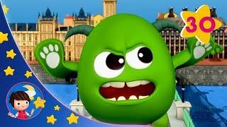 London Bridge Is Falling Down | Sleeping Baby | Kids songs | Nursery Rhymes | Little Baby Bum